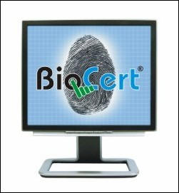 BioCert PC Security products feature fingerprint biometric software solutions that incorporate secure login to windows and single sign on password management.